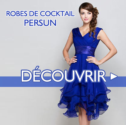 Robe de cocktail Persun