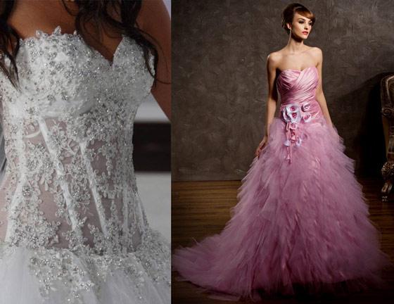 Imitation robe mariage de Persun