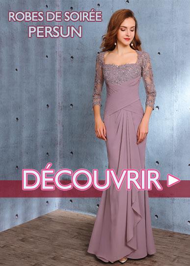 Robe de soirée Persun